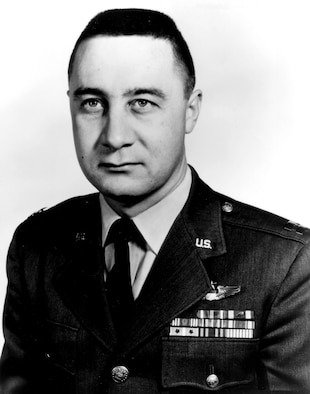 Gus Grissom was one of NASA's original seven Mercury astronauts and the first man to fly in space twice.  He died Jan. 27, 1967, in the Apollo 204 fire at Cape Kennedy. (U.S. Air Force photo)