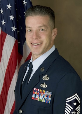 SCHRIEVER AIR FORCE BASE, Colo. - Senior Master Sgt. Michael Primo, Space Innovation and Development Center first sergeant.