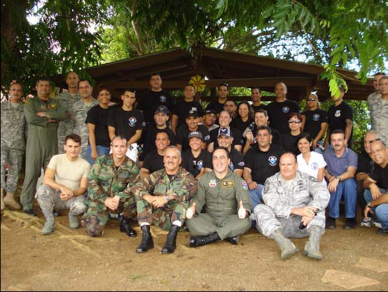 The Puerto Rico National Guard PRANG celebrated the National Guard Week with a series of events across the island from 8-12 Sept. 2008.