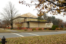 HANSCOM AIR FORCE BASE, Mass. - Hanscom's Base Theater is undergoing construction work to