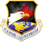 The patch of the Continental US NORAD Region and Air Forces Northern