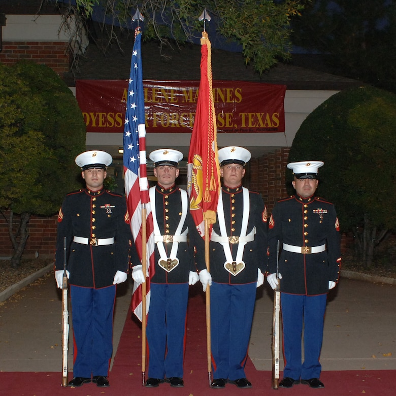Marine ball celebrates 233rd birthday of usmc dyess air for Texas motor transportation consultants