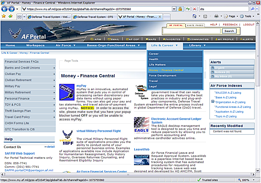 Air Force Portal Email