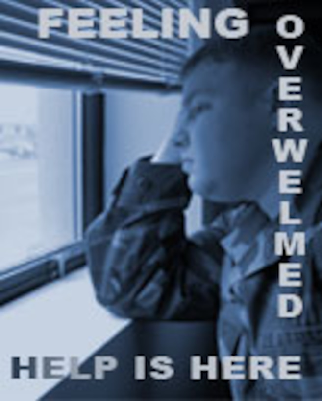 Drepressed Airman May need counseling.  Help those that maybe in need.