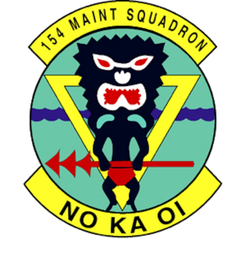 154th Maintenance Squadron, 154th Maintenance Group, 154th Wing, Hawaii Air National Guard