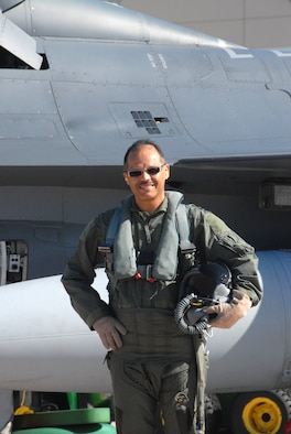 Lt. Col. Thompson 180th Vice Wing Commander