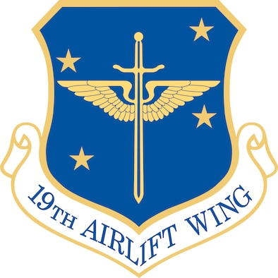 19th Airlift Wing Emblem
