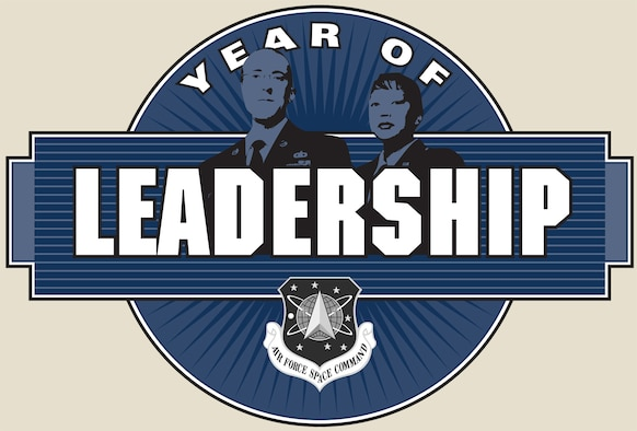 "The ""Year of Leadership"" takes place from September 2008 to August 2009. (U.S. Air Force graphic)"