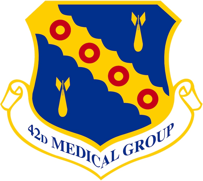42nd Medical Group shield
