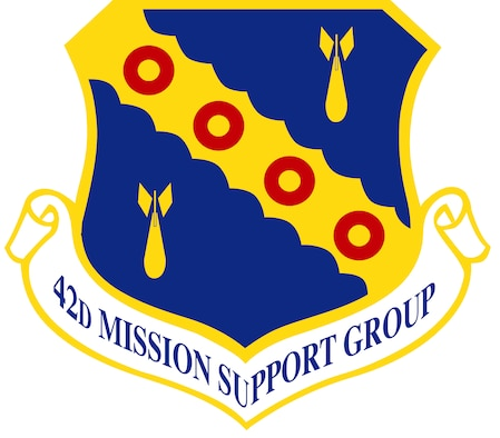 42nd Mission Support Group shield