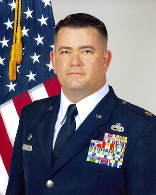 Maj. Dwight Minnick, 552nd Maintenance Operations Squadron Commander