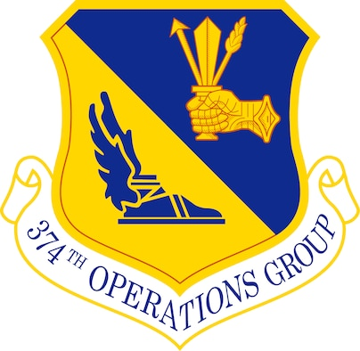 374th OG emblem