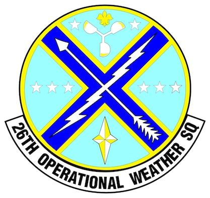 26th Operational Weather Squadron emblem.