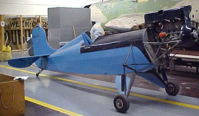 DAYTON, Ohio -- Corben Super Ace is currently in storage at the National Museum of the United States Air Force. (U.S. Air Force photo)