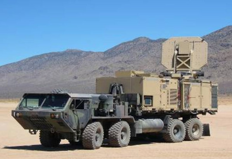 Active Denial System, operational version.  (U.S Air Force photo)