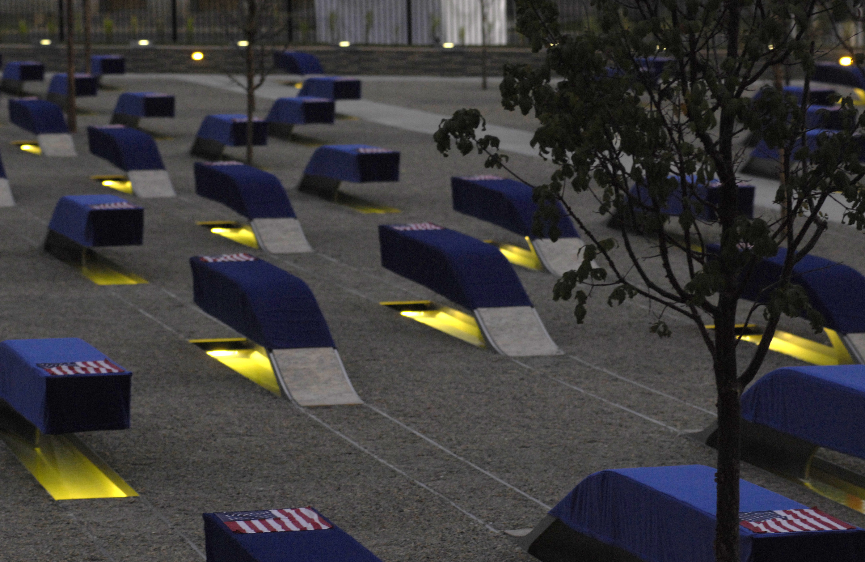 How To Write An Essay With A Thesis The Sun Rises Over  Benches At The New Pentagon Memorial Honoring Those  Who Were Killed In The  Attack On The Pentagon Seven Years Ago Sept Healthcare Essay Topics also What Is A Thesis Statement In An Essay Examples Photo Gallery How Do I Write A Thesis Statement For An Essay
