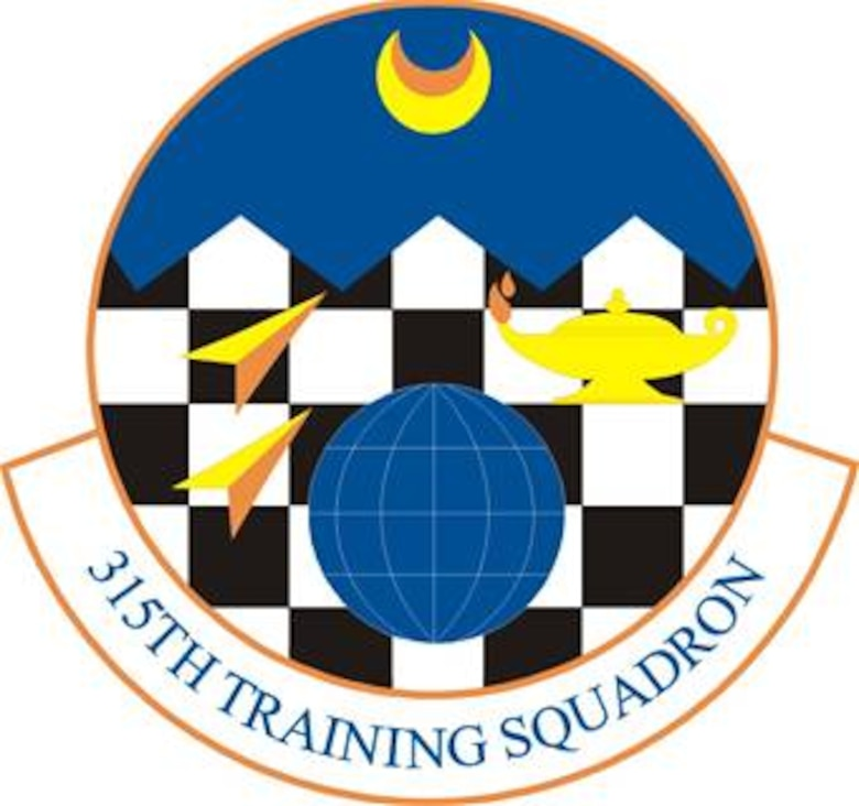 315th Training Squadron emblem