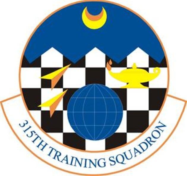 315th Training Squadron emblem