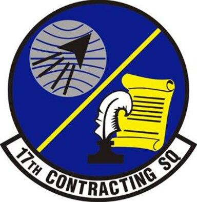 17th Contracting Squadron emblem