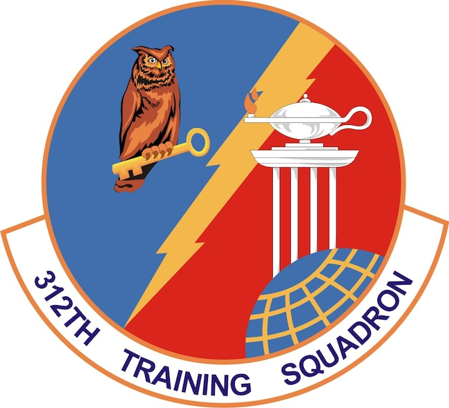 312th Training Squadron emblem