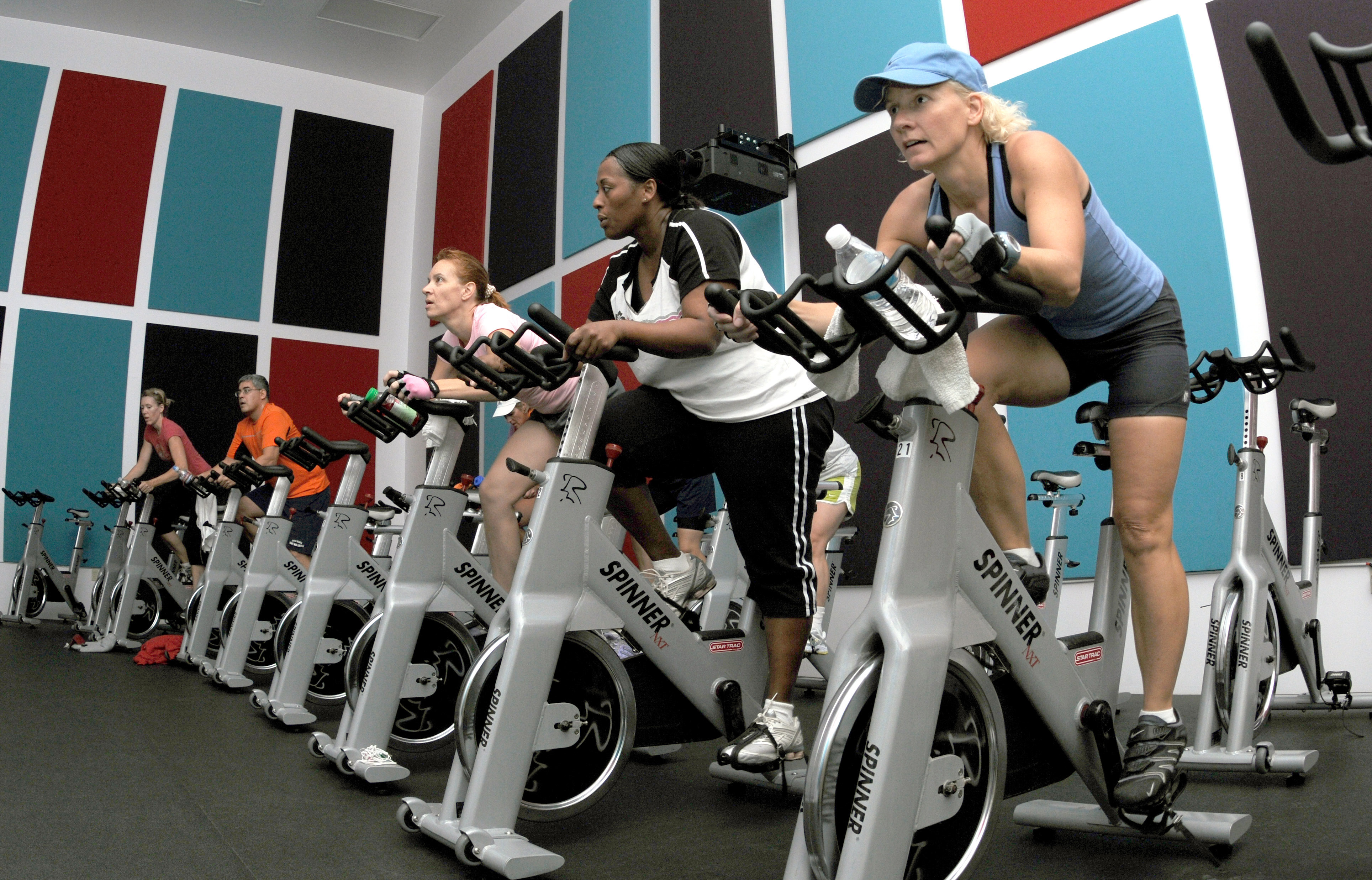 Fitness Center Offers New Spinning Class For Lunchtime