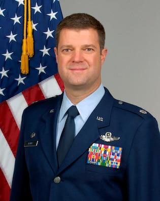 Lt. Col. Robert Haines, 963rd Airborne Air Control Squadron commander.