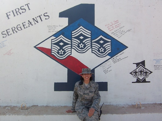 932nd Airlift Wing's new command chief, Senior Master Sgt. Sandra Santos wrote an editorial from her deployment in the desert of Iraq.