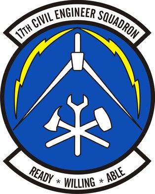 17th Civil Engineer Squadron emblem