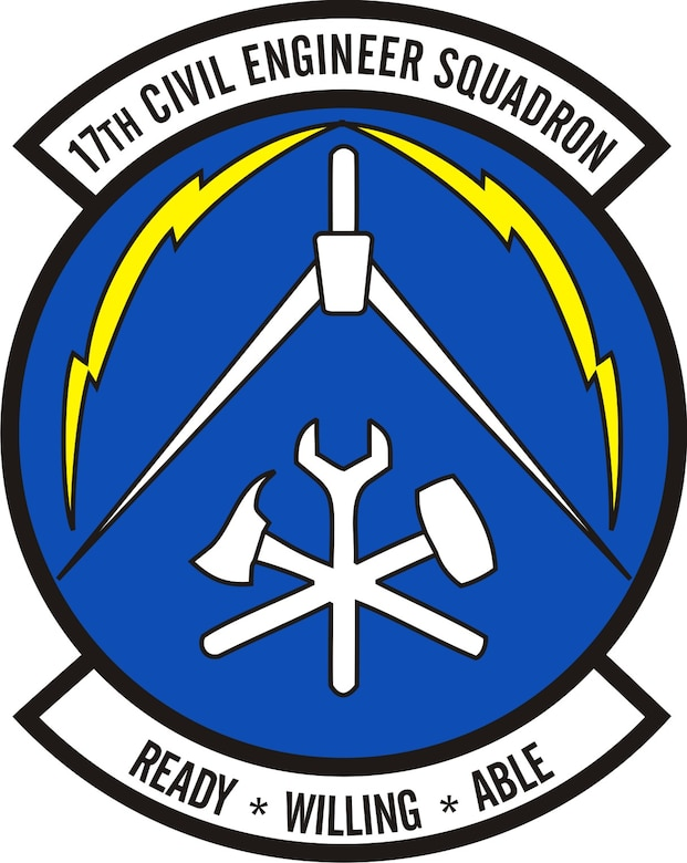 17th Civil Engineer Squadron emblem
