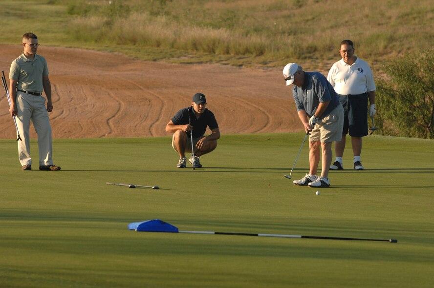 Goodfellow AFB and San Angelo Tx Friendship Golf Tournament  Quicksand Golf Course 19 Sept 2008