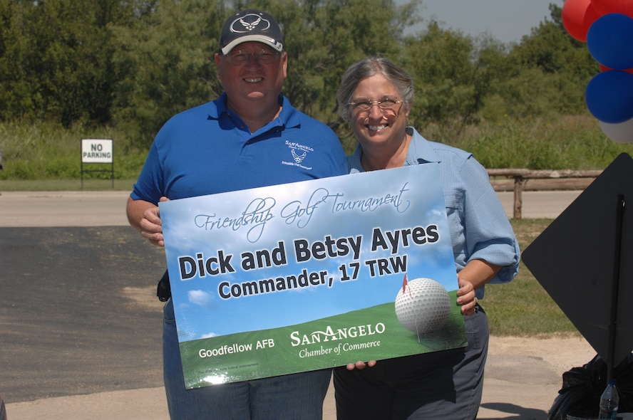 Goodfellow AFB and San Angelo Tx Friendship Golf Tournament  Quicksand Golf Course 19 Sept 2008