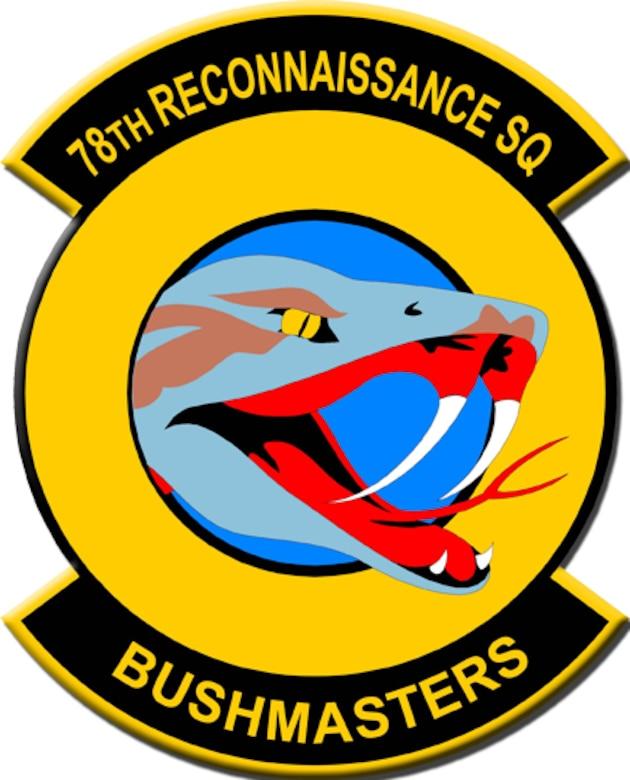 78th Reconnaissance Squadron patch