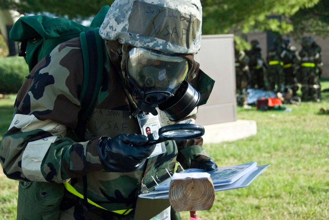 Air Force Senior Airman John Brooks, 113th Communications Flight, D.C. Air