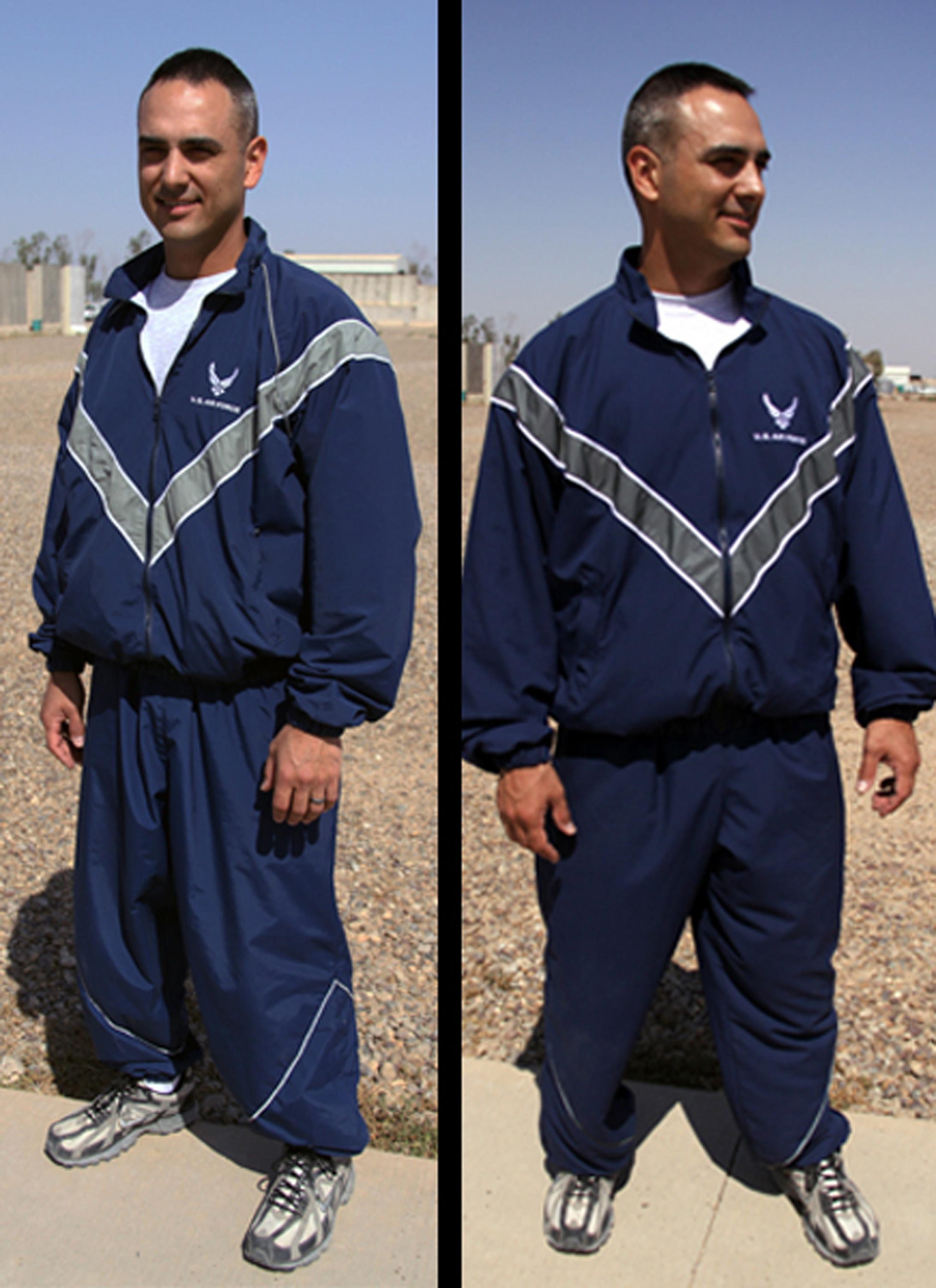 Proper wear of the Air Force PT uniform > Shaw Air Force