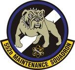 552nd Maintenance Squadron emblem.