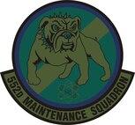 552nd Maintenance Squadron subdued emblem.