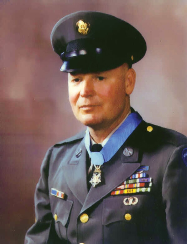 Platoon Sgt. Finnis McCleery, Medal of Honor Recipient from San Angelo, Texas (Courtesy photo)