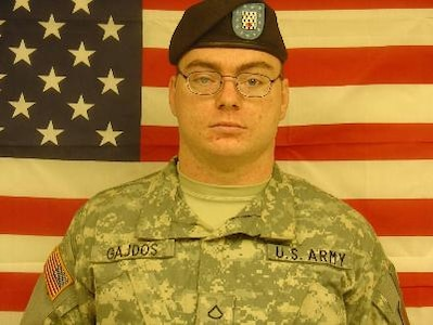Pfc. Shawn D. Gajdos, Killed Jun. 6, 2007