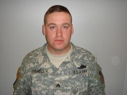 Sgt. Wayne R. Cornell, Killed Mar. 20, 2007