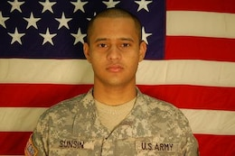 Spc. Astor A. Sunsin-Pineda, Killed May 2, 2007