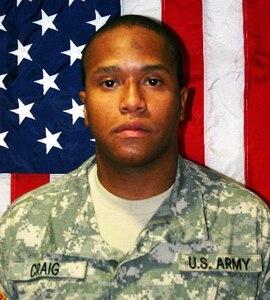 Pfc. Andre Craig Jr., Killed Jun. 25, 2007