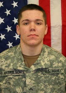 Pfc. James J. Harrelson, Killed Jul. 17, 2007