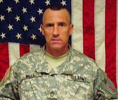 Sgt. 1st Class Johnny C. Walls, Killed  Nov. 2, 2007, Transition Team member