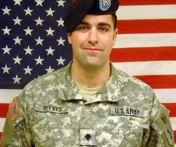 Spc. Joshua H. Reeves, Killed Sept. 22, 2007