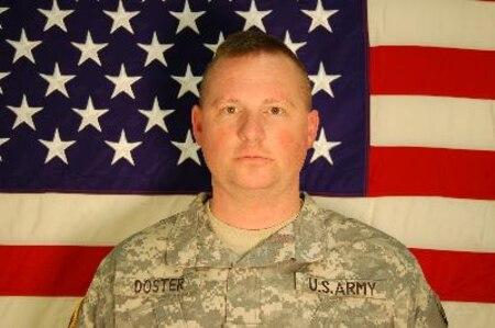 Sgt. 1st Class James D. Doster, Killed Sept. 29, 2007