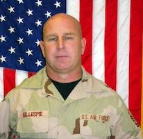Air Force Master Sgt. Randy J. Gillespie