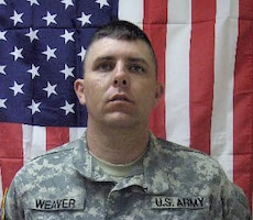 Master Sgt. Davy N. Weaver, Killed May 18, 2008, Transition Team member