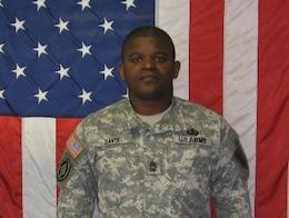 Master Sgt. Anthony Davis, Killed Nov. 25, 2008, Transition Team member