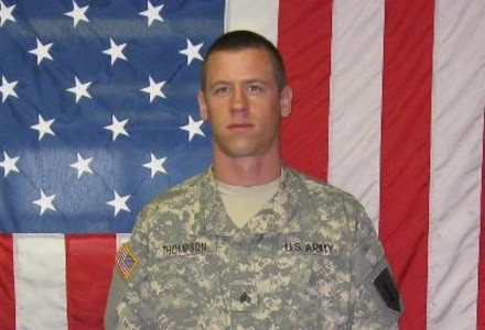 Sgt. Daniel J. Thompson, Killed Feb. 24, 2009, Transition Team member