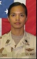 Lt. Florence B. Choe, Killed Mar. 27, 2009, Transition Team member